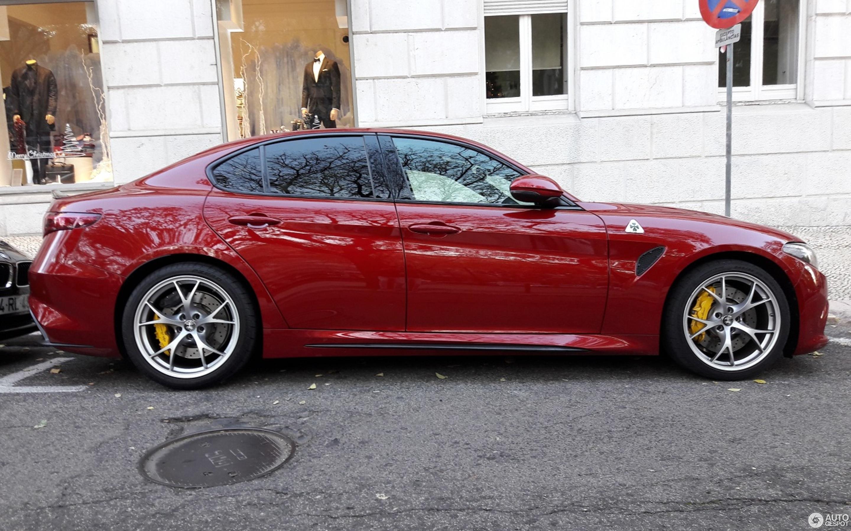 Alfa Romeo Giulia Car Show