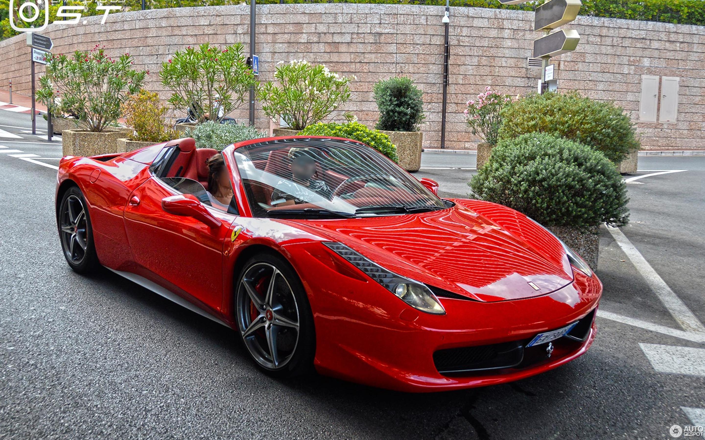 Ferrari 458 Spider 20 January 2018 Autogespot