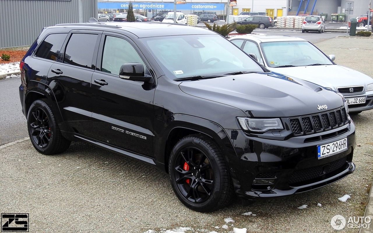 jeep grand cherokee srt 8 2017 21 stycze 2018 autogespot. Black Bedroom Furniture Sets. Home Design Ideas