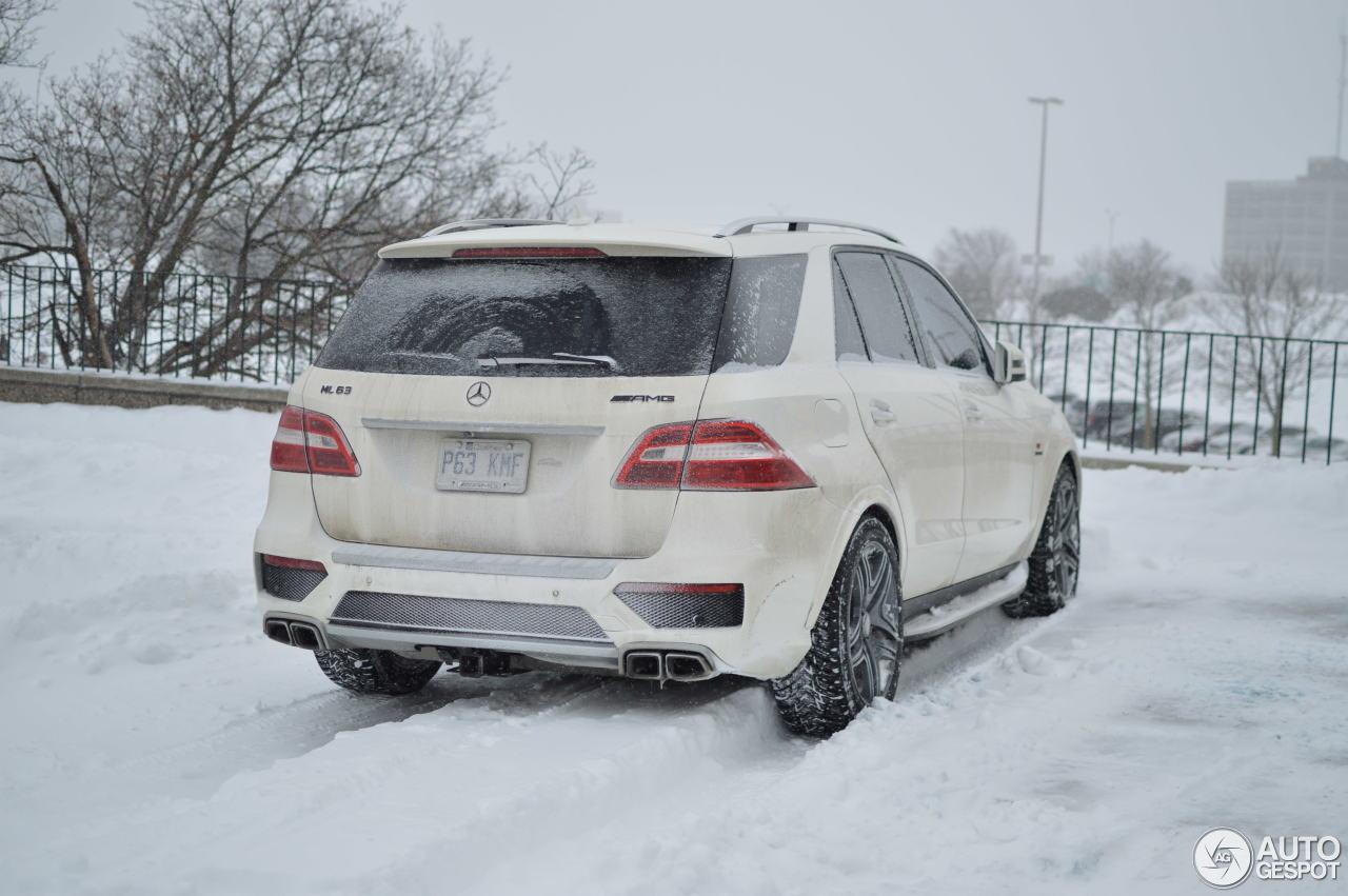 Mercedes Benz Ml 63 Amg W166 21 January 2018 Autogespot