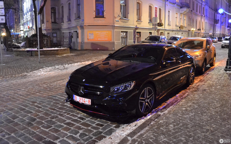 Mercedes Benz S 63 Amg Coupé C217