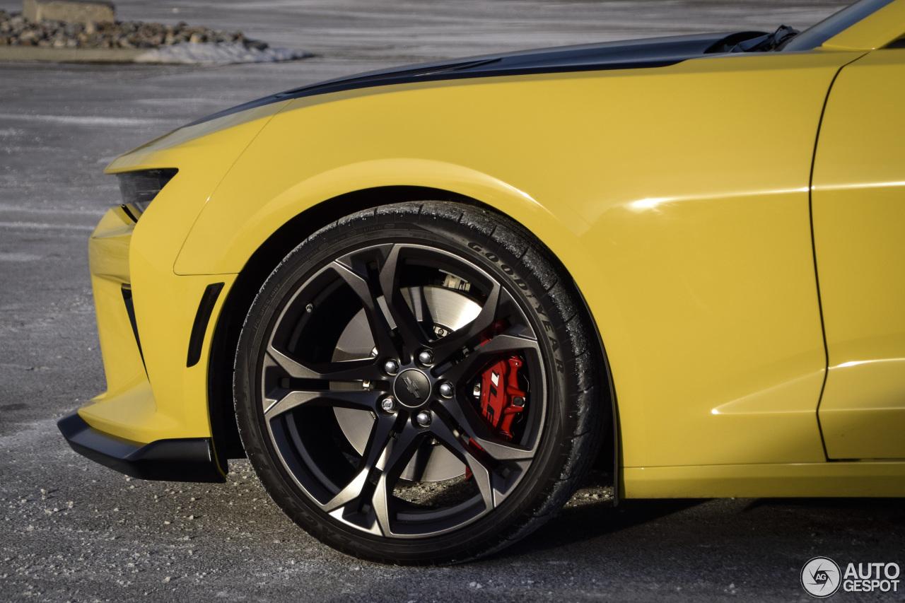 Chevrolet Camaro SS 1LE 2017 - 22 janvier 2018 - Autogespot