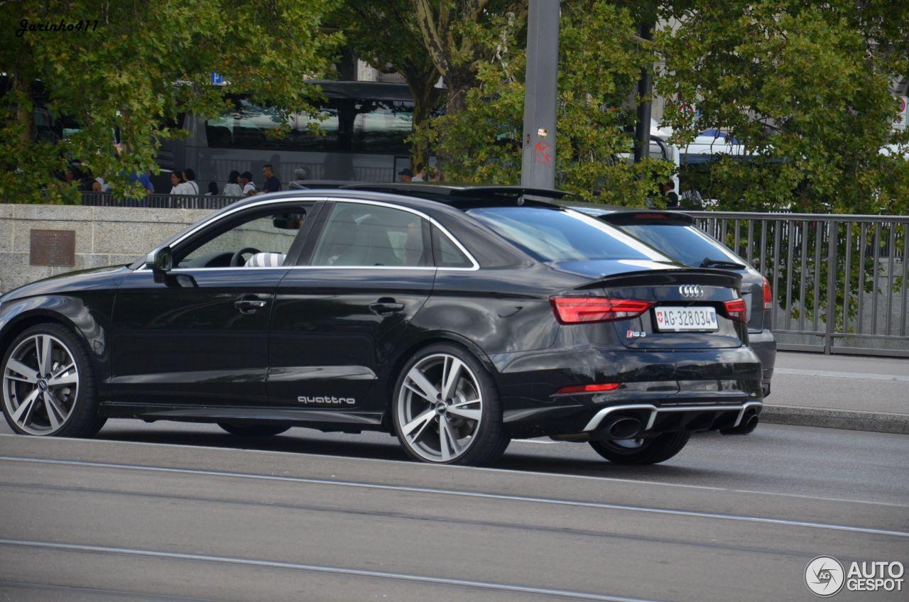 Audi RS3 Sedan 8V - 23 January 2018 - Autogespot