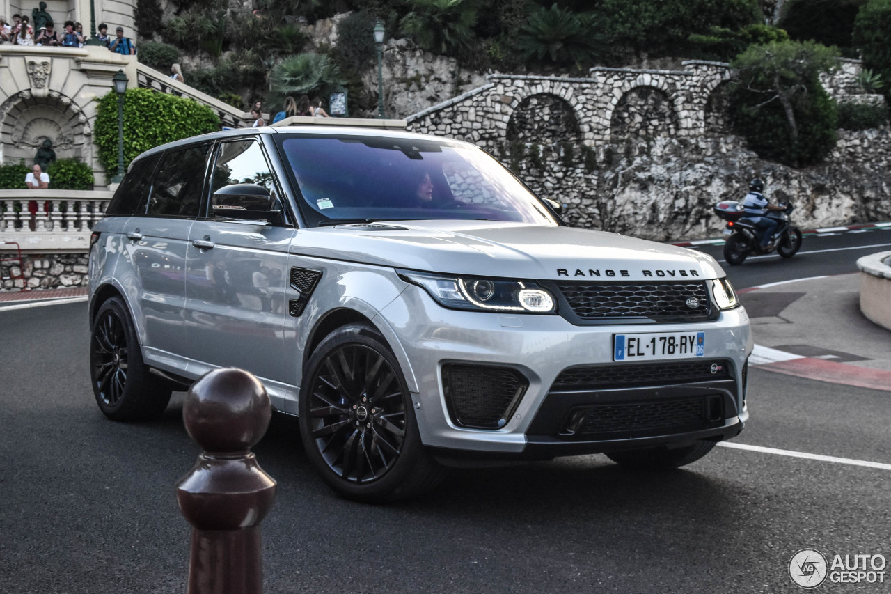 land rover range rover sport svr 23 january 2018. Black Bedroom Furniture Sets. Home Design Ideas