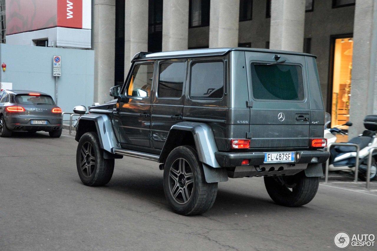 Mercedes benz g 500 4x4 23 gennaio 2018 autogespot for Mercedes benz c 500
