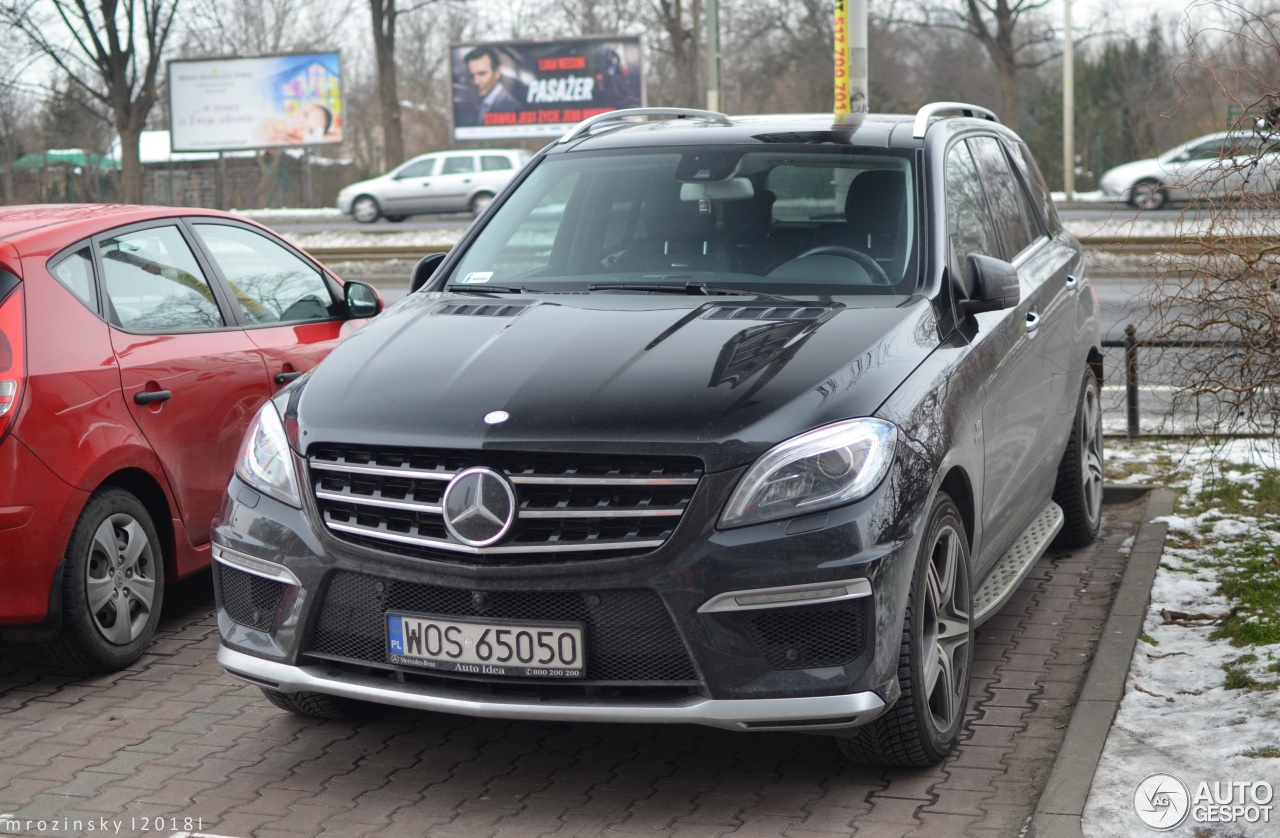 Mercedes Benz Ml 63 Amg W166 23 January 2018 Autogespot