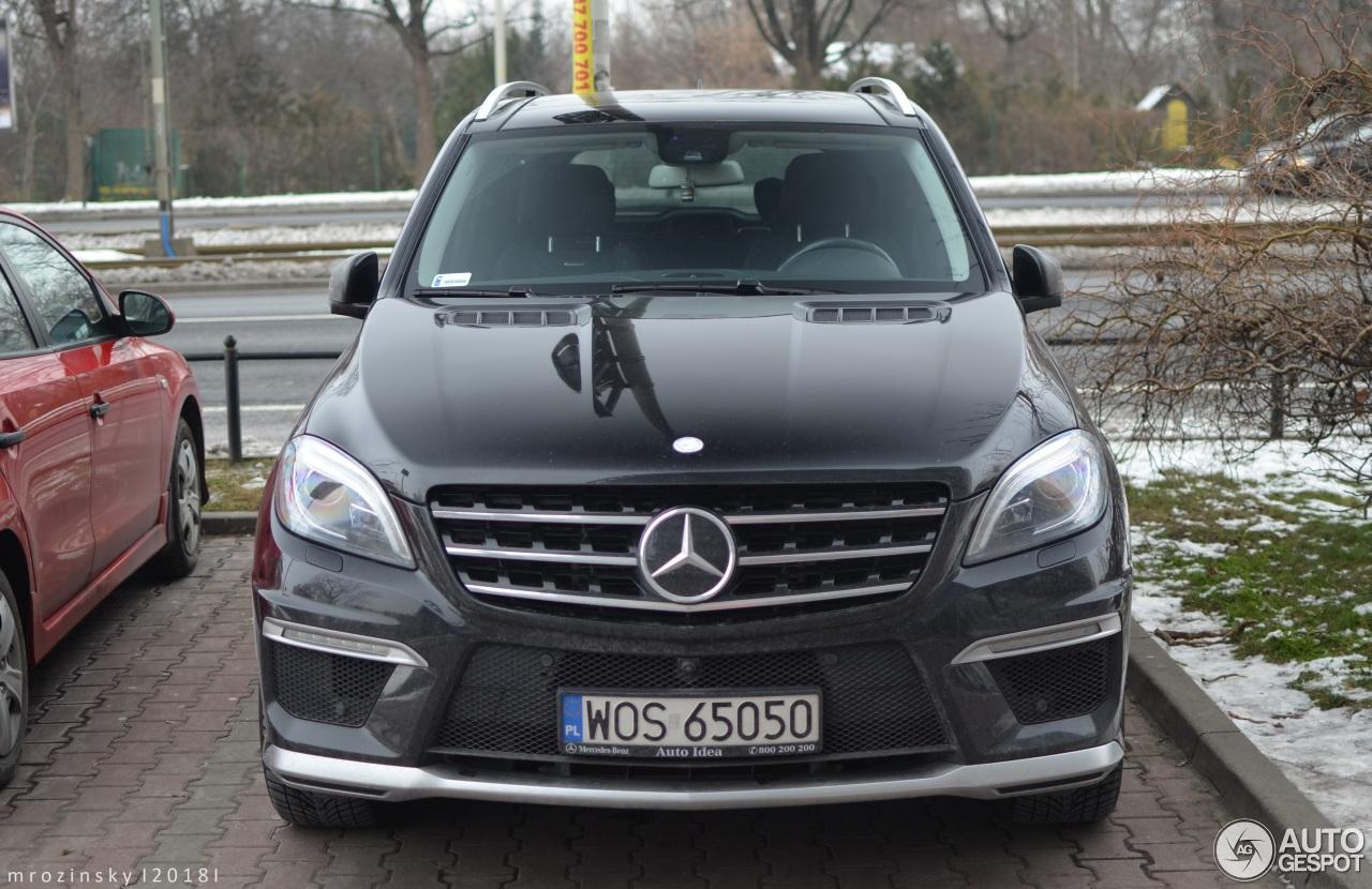 Mercedes benz ml 63 amg w166 23 january 2018 autogespot for Mercedes benz ml 63