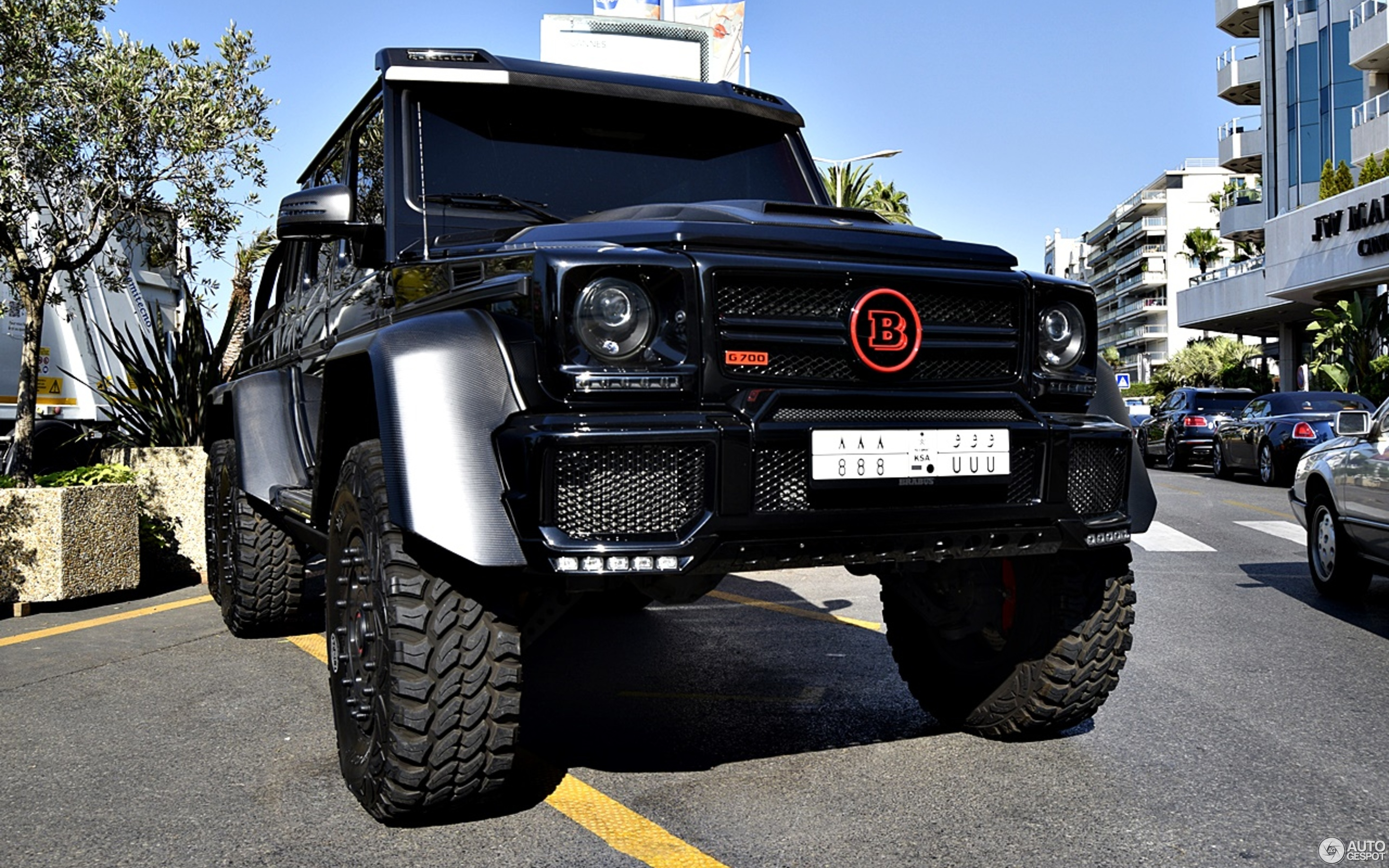 63 Power Wagon >> Mercedes-Benz Brabus B63S 700 6x6 - 23 January 2018 - Autogespot