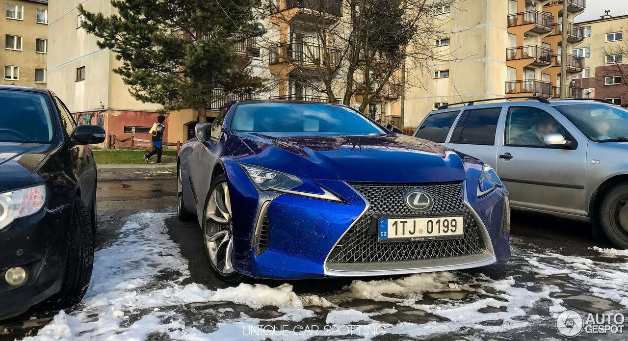 Lexus Lc 500 Structural Blue Edition 24 January 2018 Autogespot