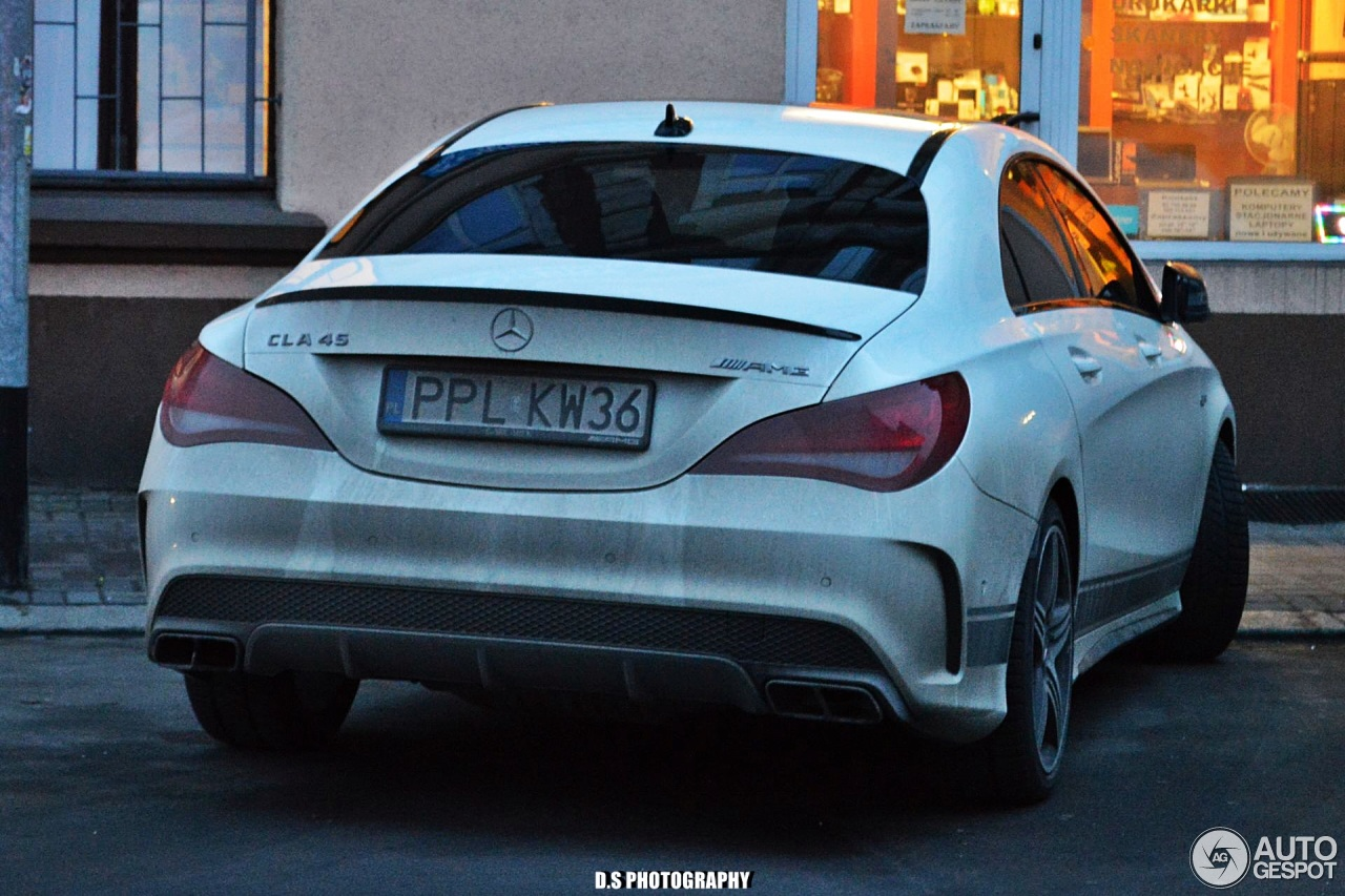 mercedes benz cla 45 amg edition 1 c117 25 january 2018 autogespot. Black Bedroom Furniture Sets. Home Design Ideas