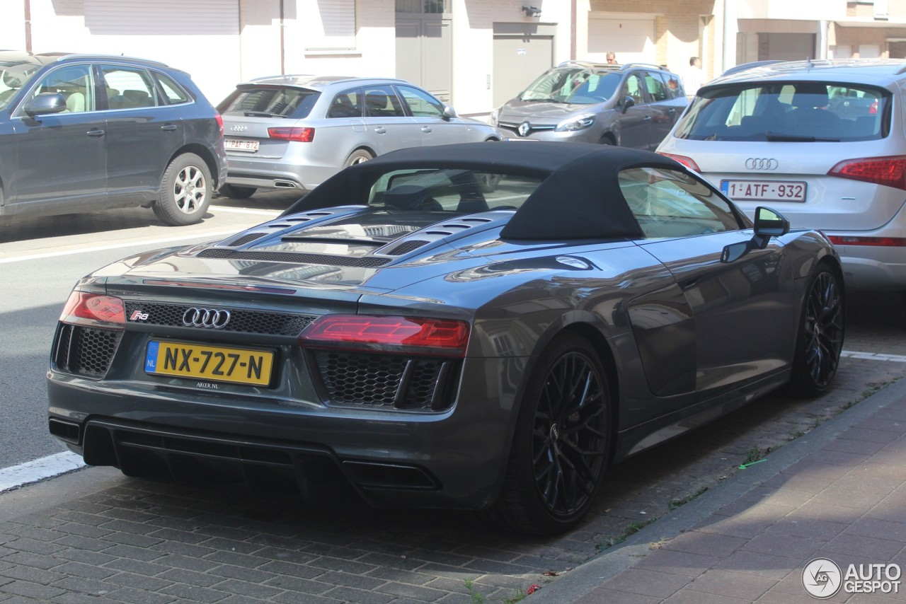 Audi R8 V10 Spyder 2016 26 January 2018 Autogespot