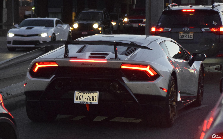 Lamborghini Hurac 225 N Lp640 4 Performante 26 January 2018
