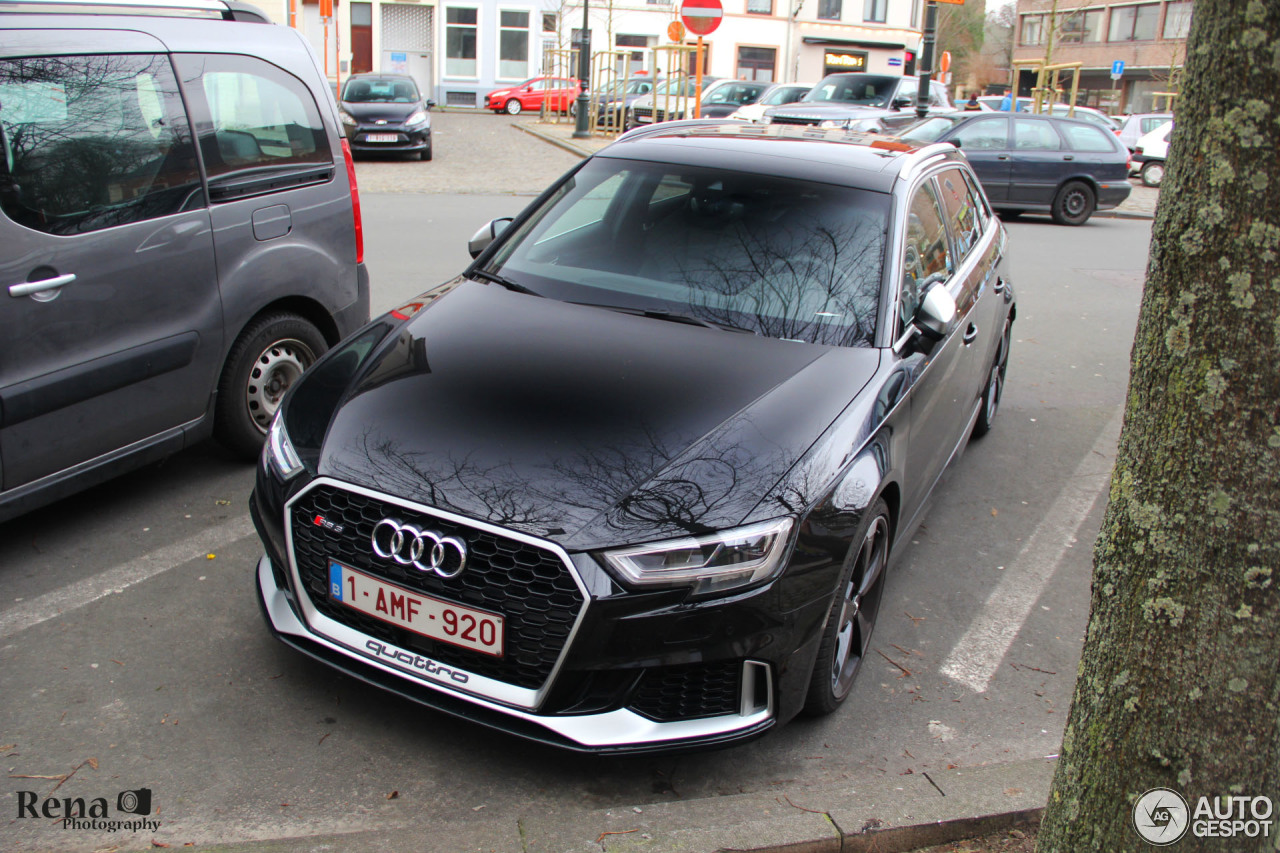 audi rs3 sportback 8v 2018 27 january 2018 autogespot. Black Bedroom Furniture Sets. Home Design Ideas