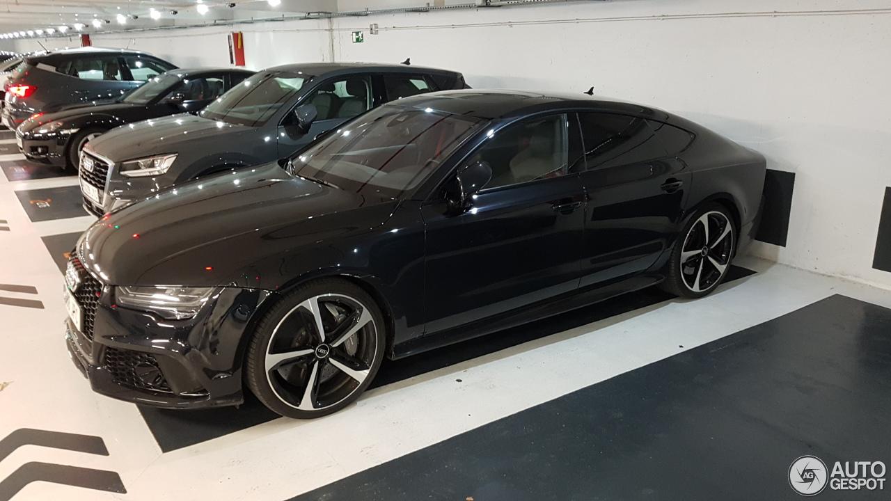 Auto Karta Barcelona.Audi Rs7 Sportback 2015 27 Sausio 2018 Autogespot