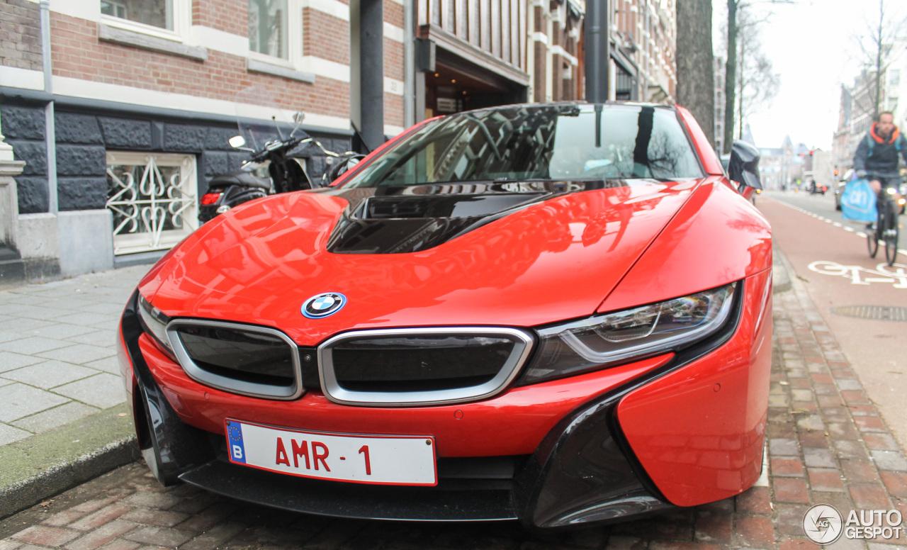 Bmw I8 Protonic Red Edition 27 January 2018 Autogespot
