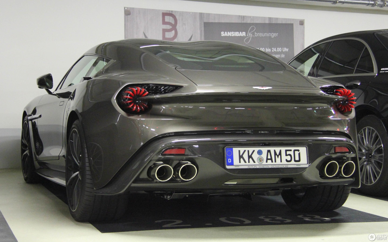 Aston Martin Vanquish Zagato 27 Januar 2018 Autogespot