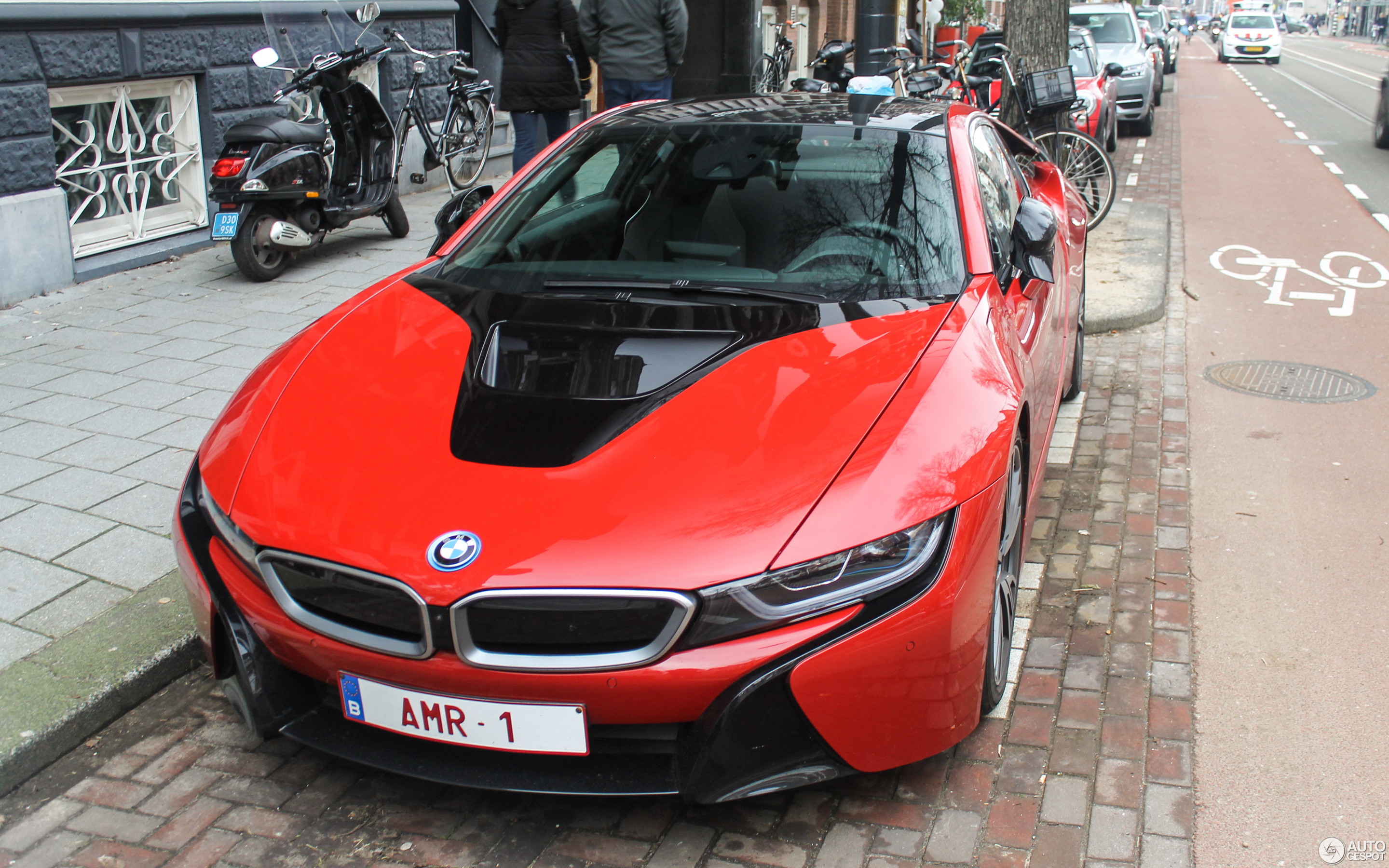 Bmw I8 Protonic Red Edition 27 January 2018 Autogespot