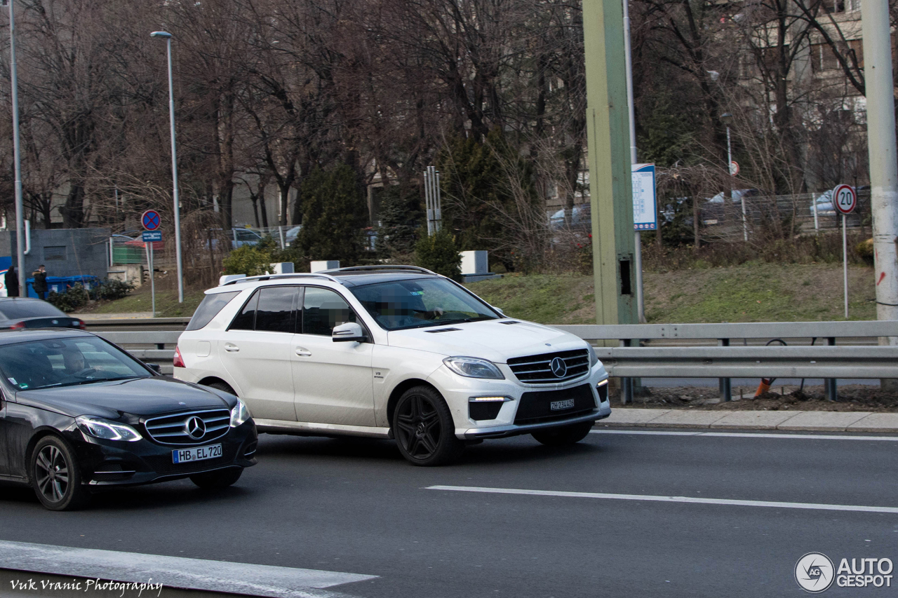 Mercedes benz ml 63 amg w166 28 january 2018 autogespot for Mercedes benz ml 63