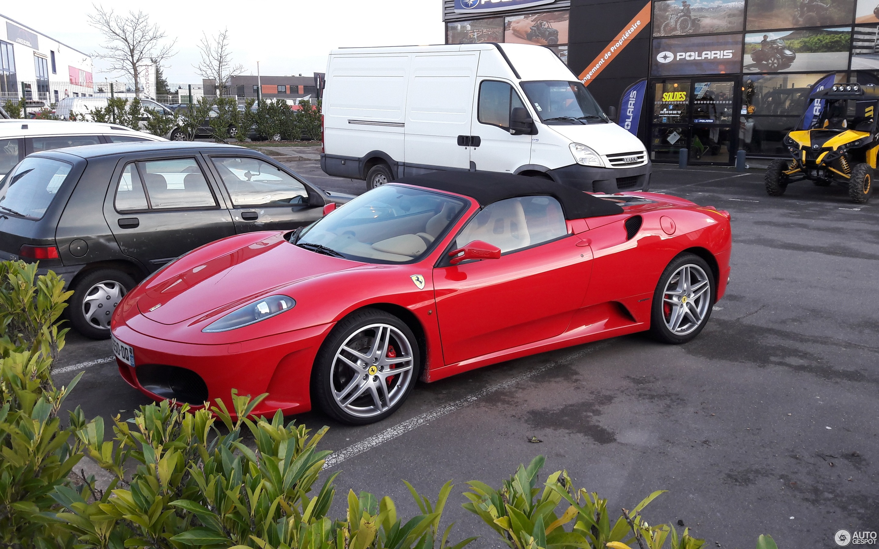 autogespot sale crop ferrari spider for march used