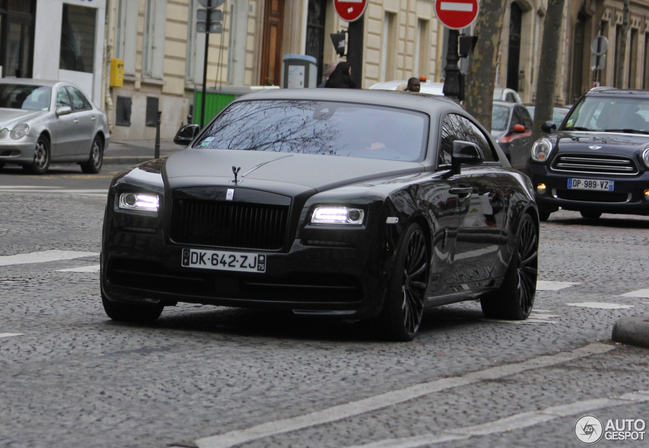 rollsroyce wraith spofec 28 january 2018 autogespot