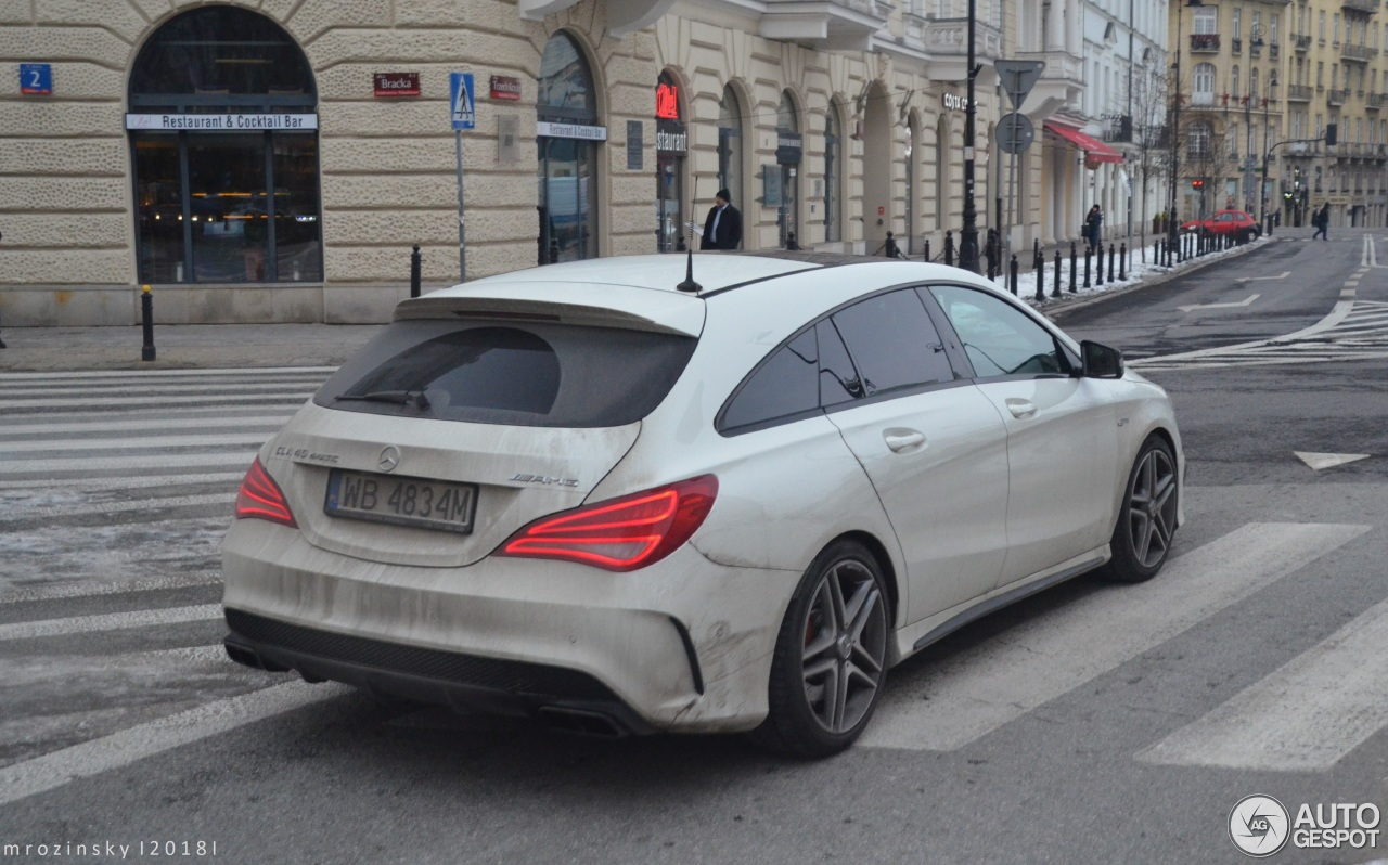 mercedes benz cla 45 amg shooting brake 29 january 2018 autogespot. Black Bedroom Furniture Sets. Home Design Ideas