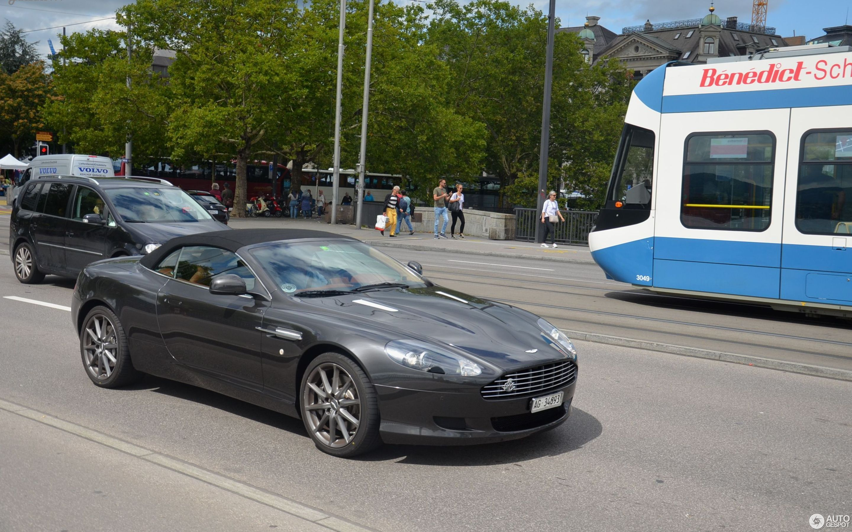 Aston Martin Db9 Volante 29 Januar 2018 Autogespot