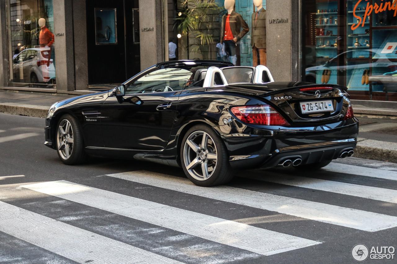 Mercedes benz slk 55 amg r172 30 january 2018 autogespot for Mercedes benz slk 2018