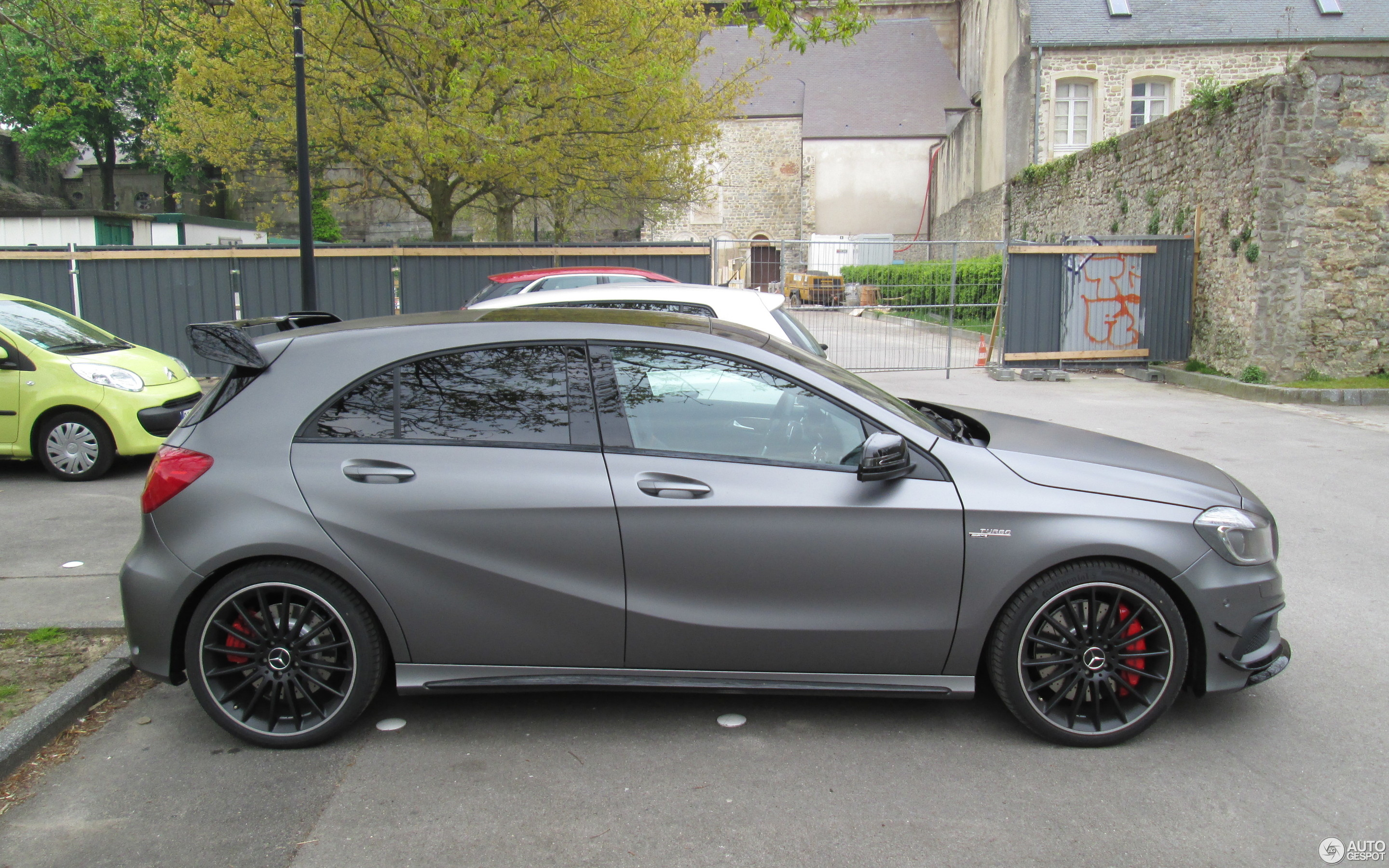 mercedes benz a 45 amg 31 january 2018 autogespot. Black Bedroom Furniture Sets. Home Design Ideas