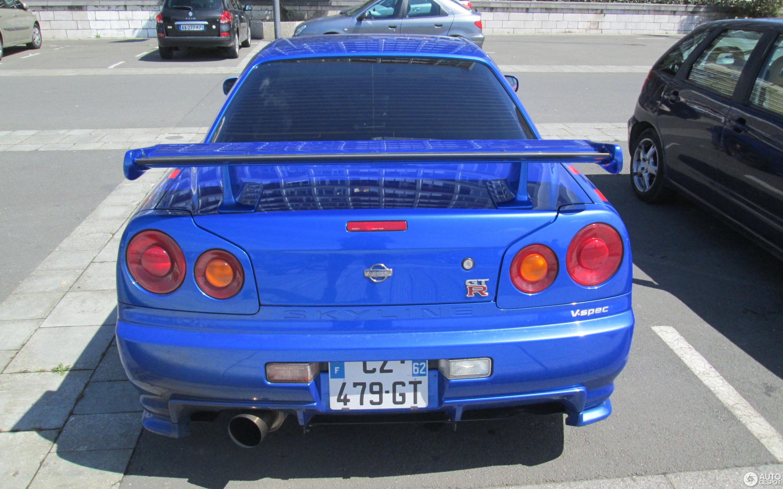 Nissan Skyline R34 GT R V Spec