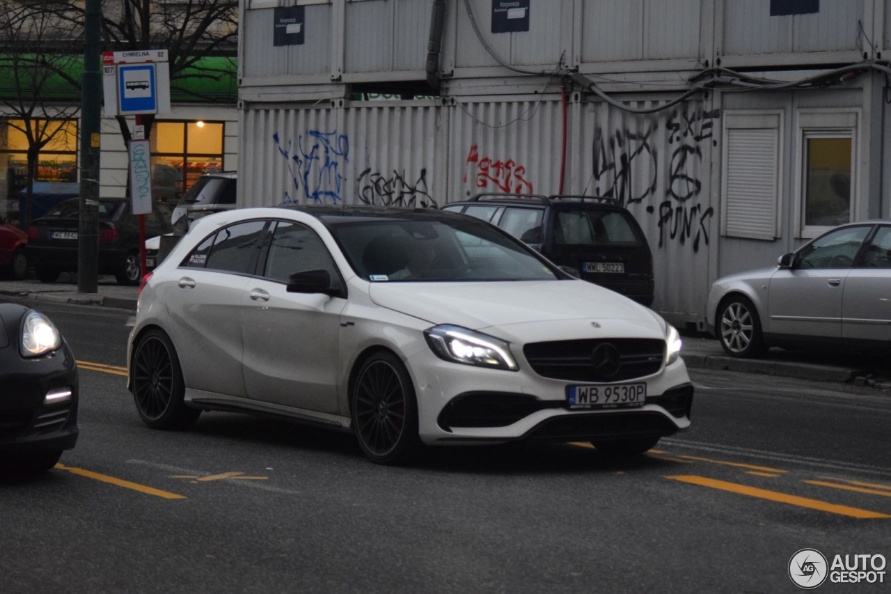 mercedes amg a 45 w176 2015 2 februar 2018 autogespot. Black Bedroom Furniture Sets. Home Design Ideas