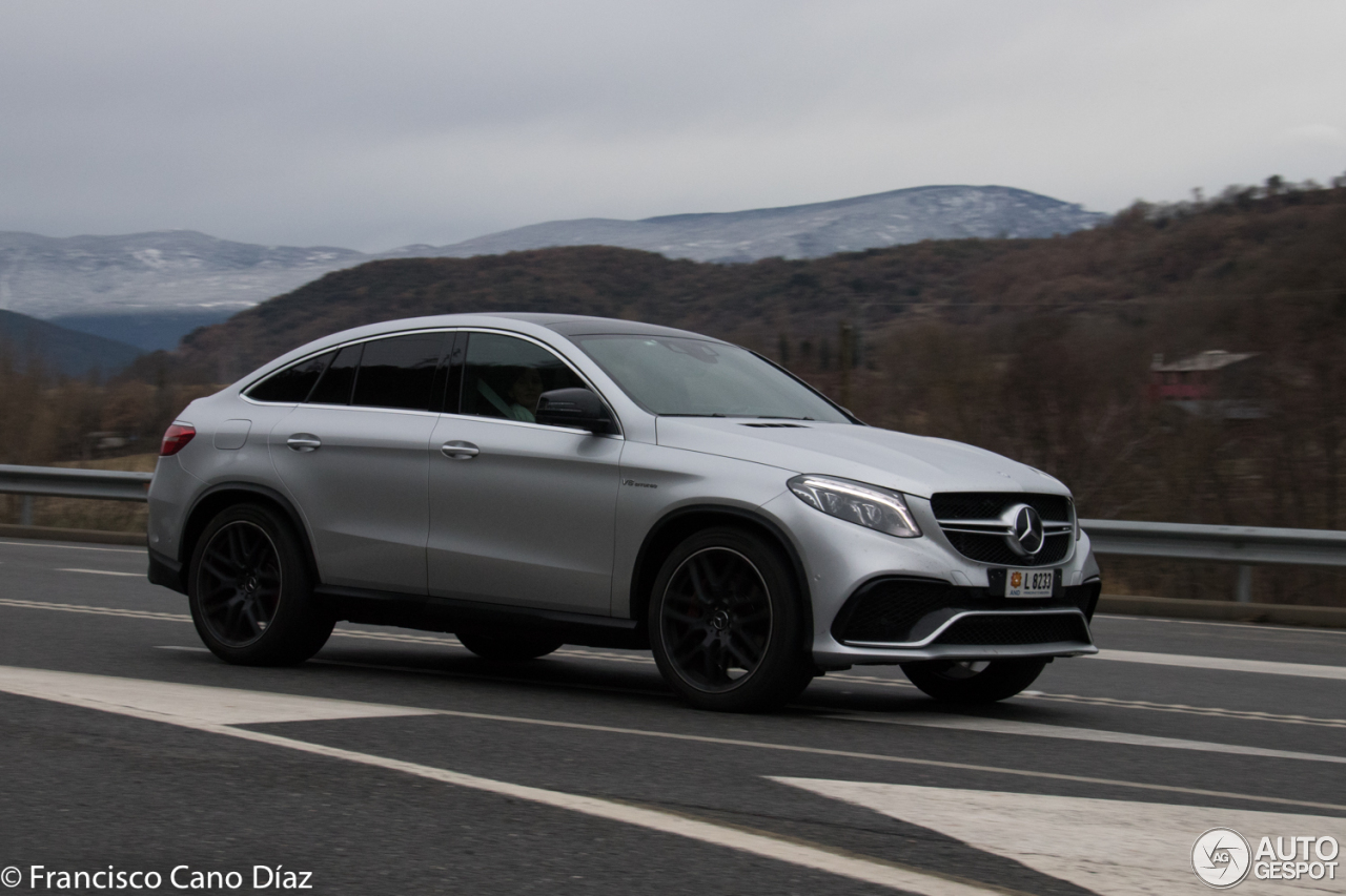 mercedes amg gle 63 s coup 2 february 2018 autogespot. Black Bedroom Furniture Sets. Home Design Ideas