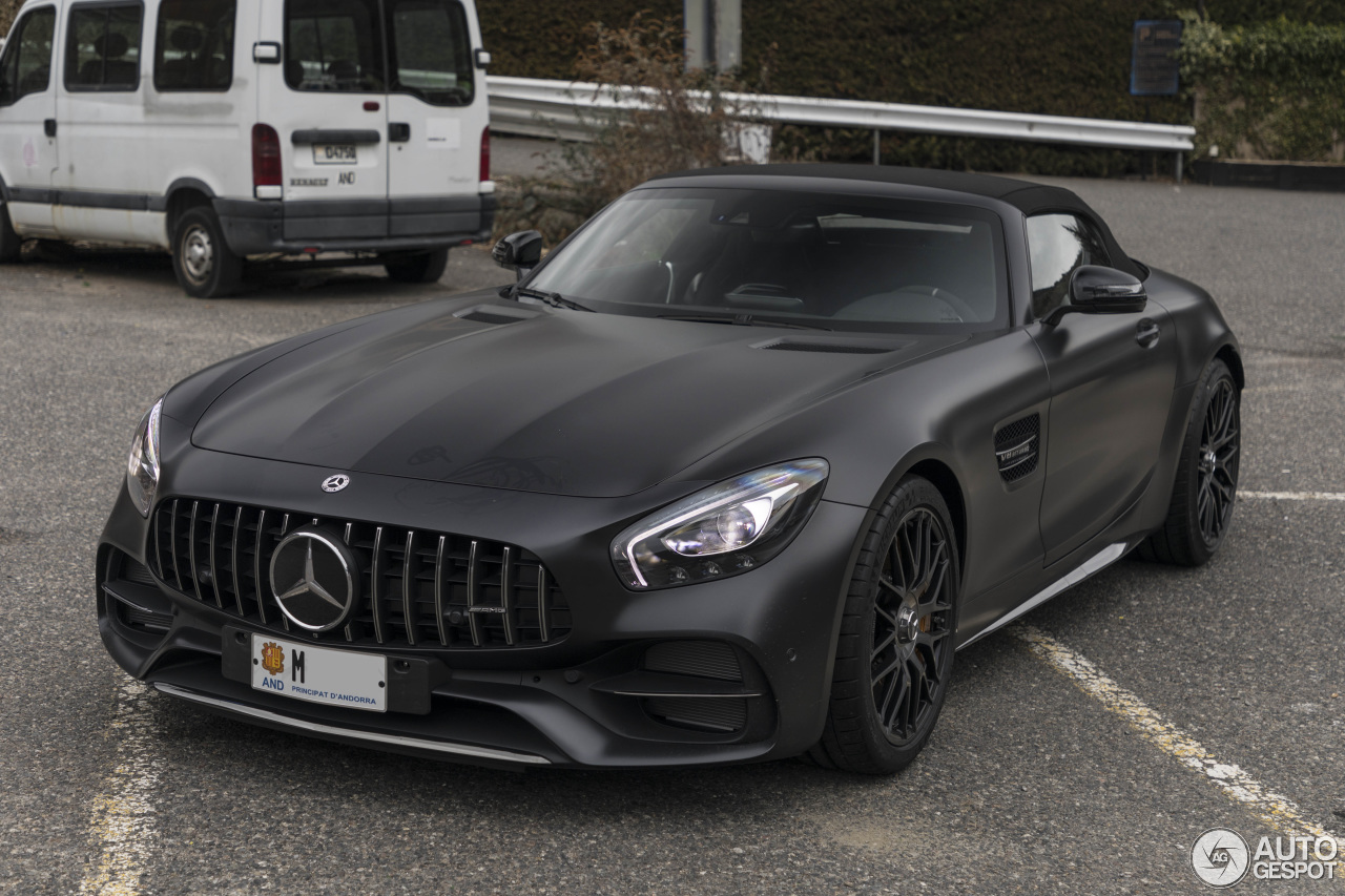 mercedes amg gt c roadster r190 edition 50 2 luty 2018. Black Bedroom Furniture Sets. Home Design Ideas
