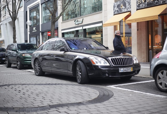 Maybach 62 S Zeppelin 2011