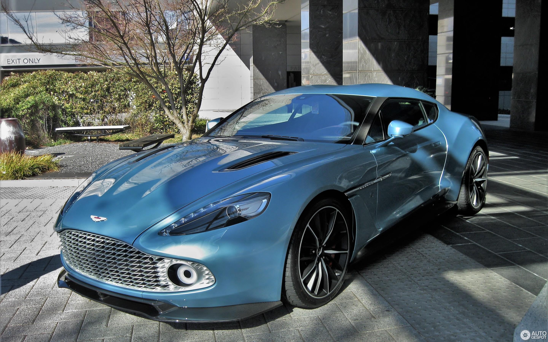 Aston Martin Vanquish Zagato F Vrier Autogespot - Aston martin vanquish zagato