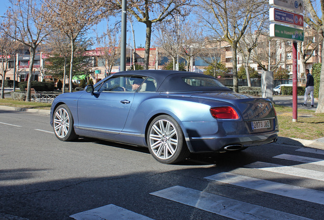 Bentley Continental GTC Speed 2013