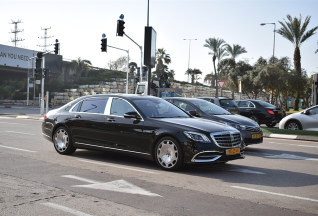 Mercedes-Maybach S600 2017