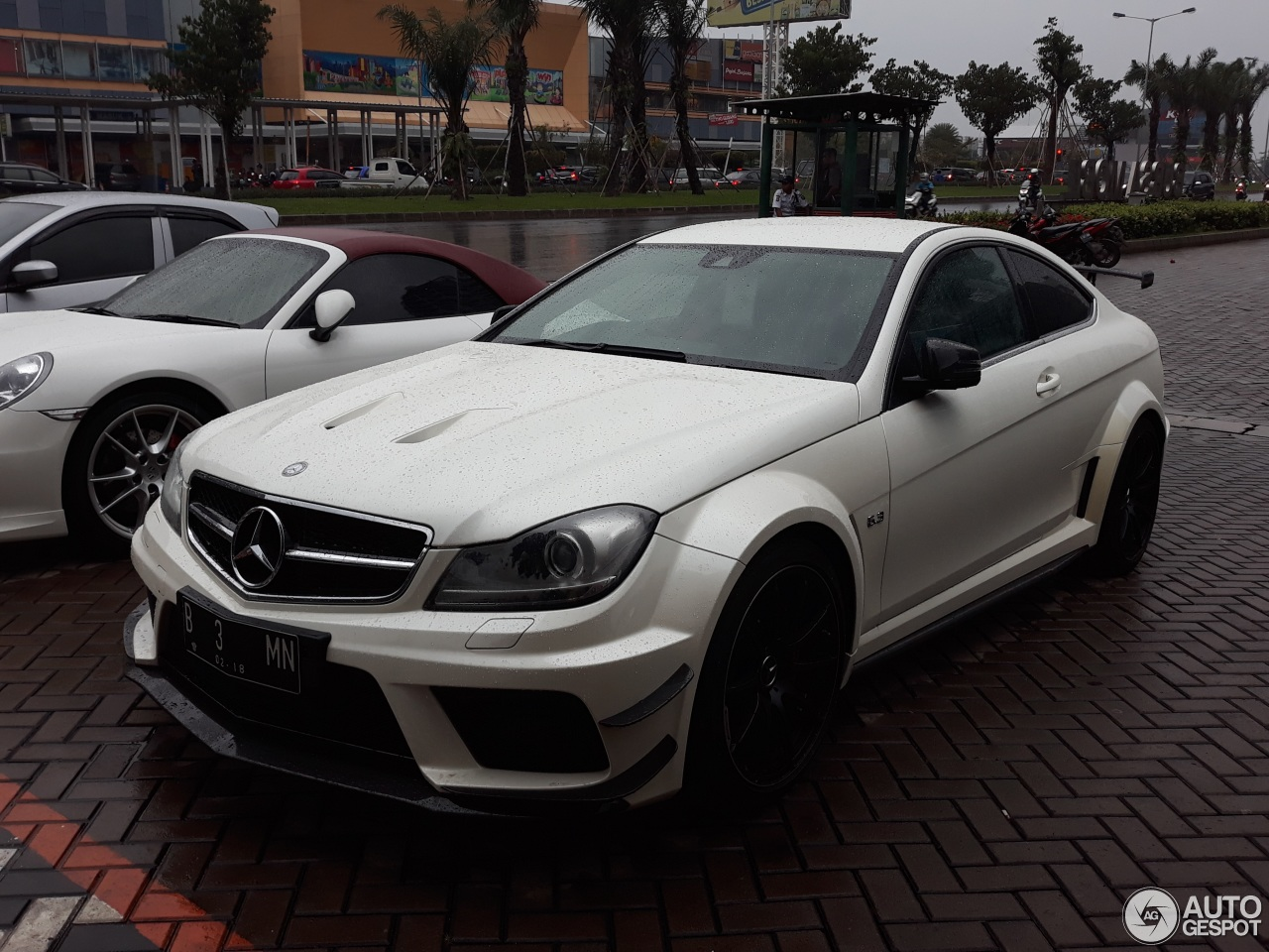 Mercedes benz c 63 amg coup black series 6 february for C series mercedes benz