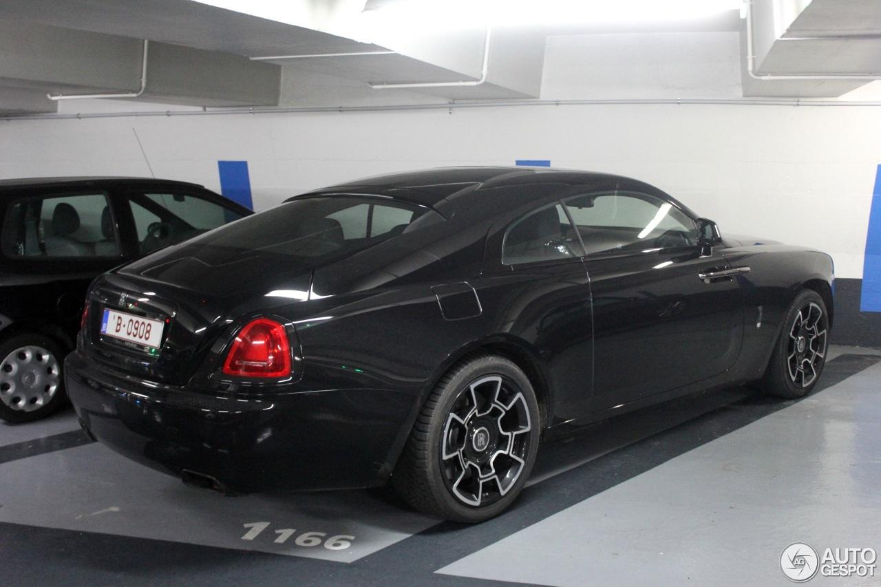 Rolls Royce Wraith Black Badge 6 Febbraio 2018 Autogespot