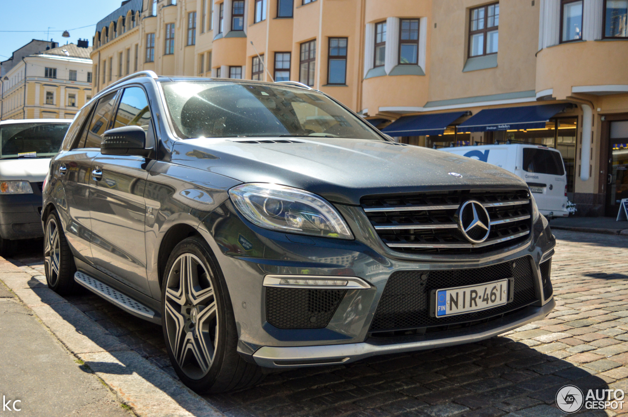 Mercedes Benz Ml 63 Amg W166 7 February 2018 Autogespot