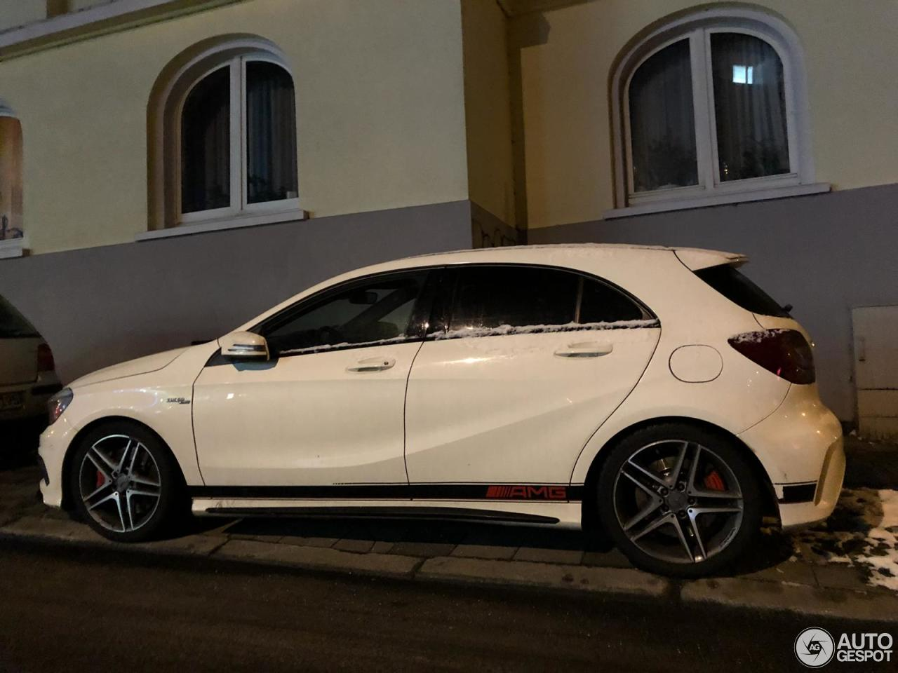 Mercedes benz a 45 amg 8 luty 2018 autogespot for Mercedes benz a 45