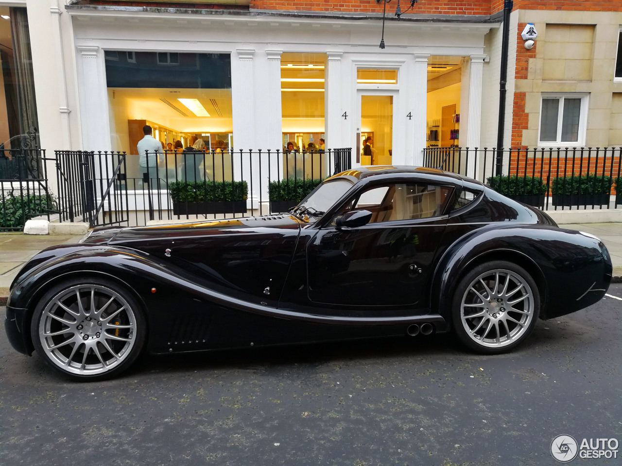 morgan aero 8 supersports 8 february 2018 autogespot. Black Bedroom Furniture Sets. Home Design Ideas