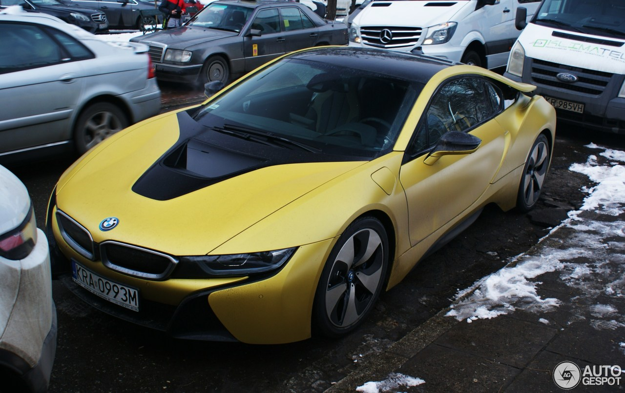 Bmw I8 Protonic Frozen Yellow Edition 9 February 2018 Autogespot