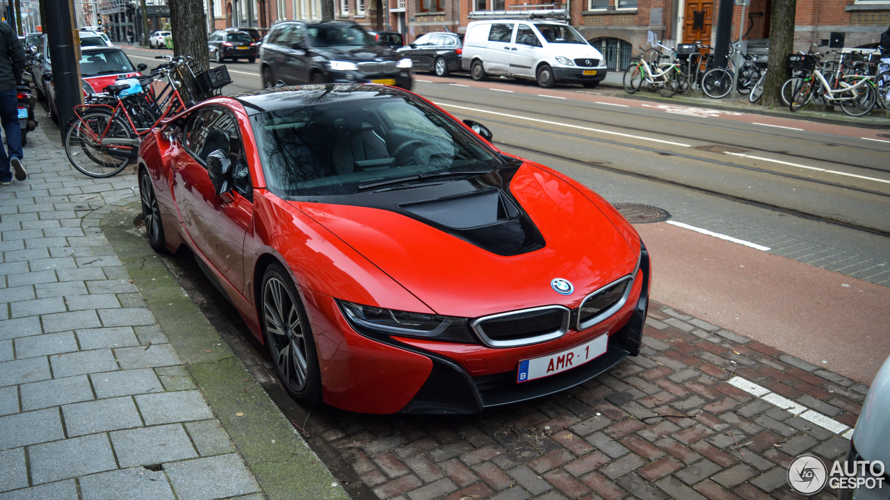 Bmw I8 Protonic Red Edition 9 February 2018 Autogespot