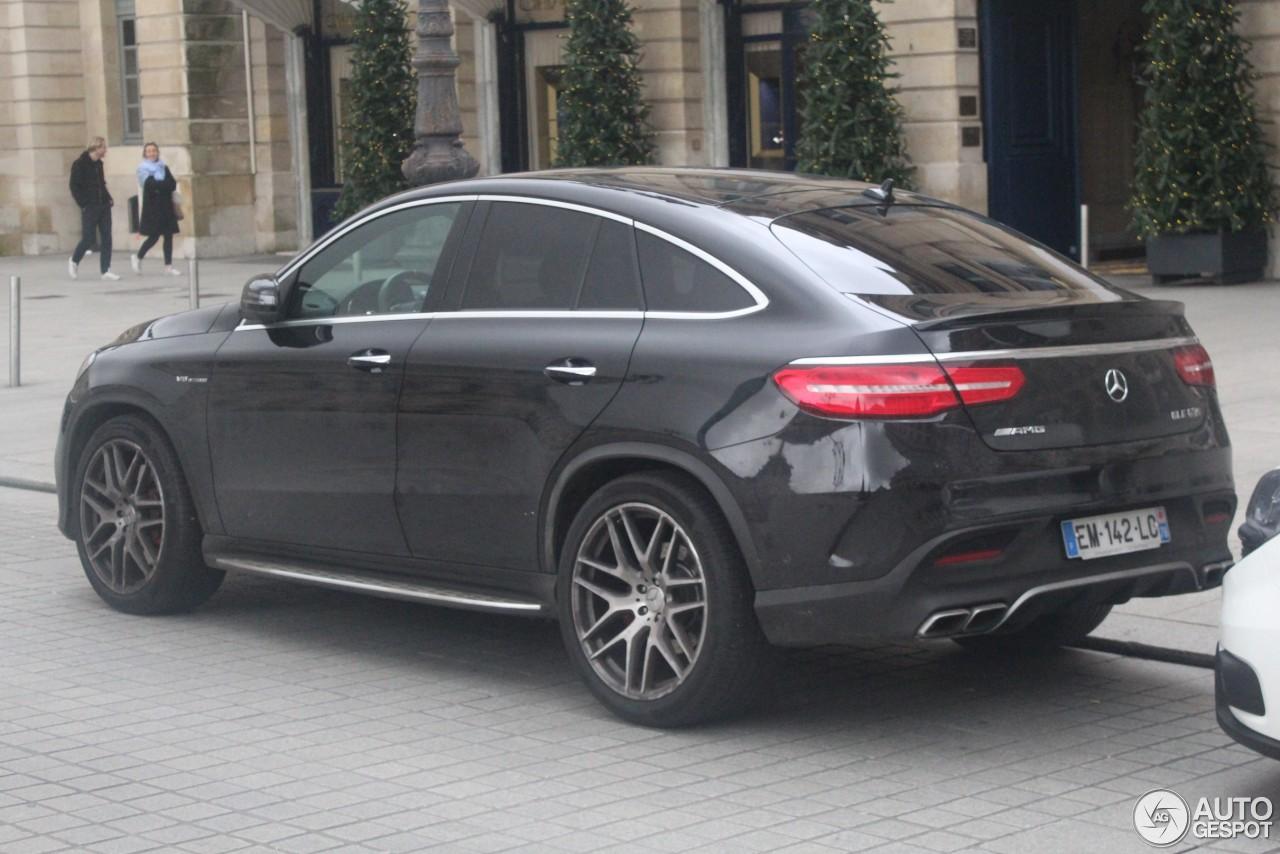 Mercedes Amg Gle 63 S Coup 9 2018 Autogespot