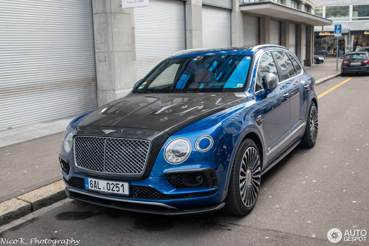 bentley mansory bentayga 10 february 2018 autogespot. Black Bedroom Furniture Sets. Home Design Ideas