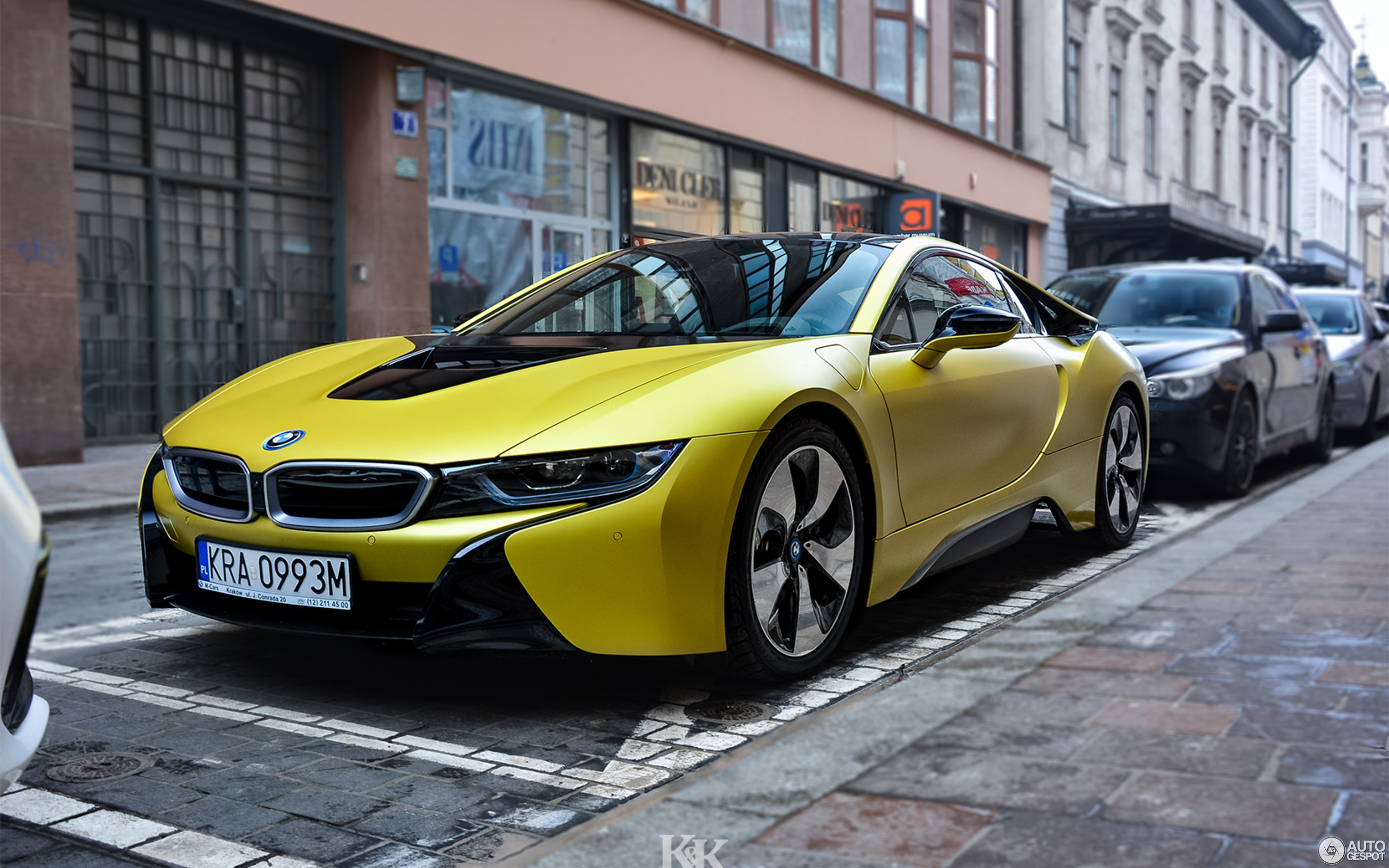 bmw i8 protonic frozen yellow edition 10 february 2018 autogespot. Black Bedroom Furniture Sets. Home Design Ideas