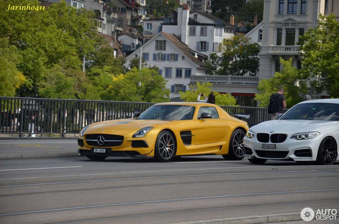 Mercedes-Benz SLS AMG Black Series 2
