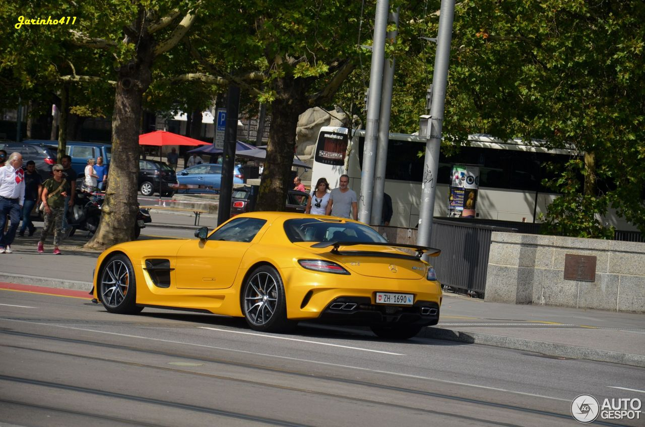 Mercedes-Benz SLS AMG Black Series 6