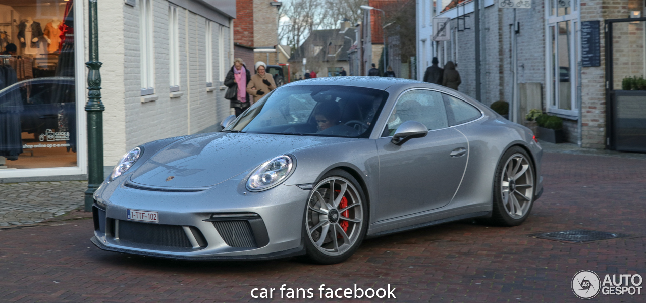 porsche 991 gt3 mkii touring 11 february 2018 autogespot. Black Bedroom Furniture Sets. Home Design Ideas