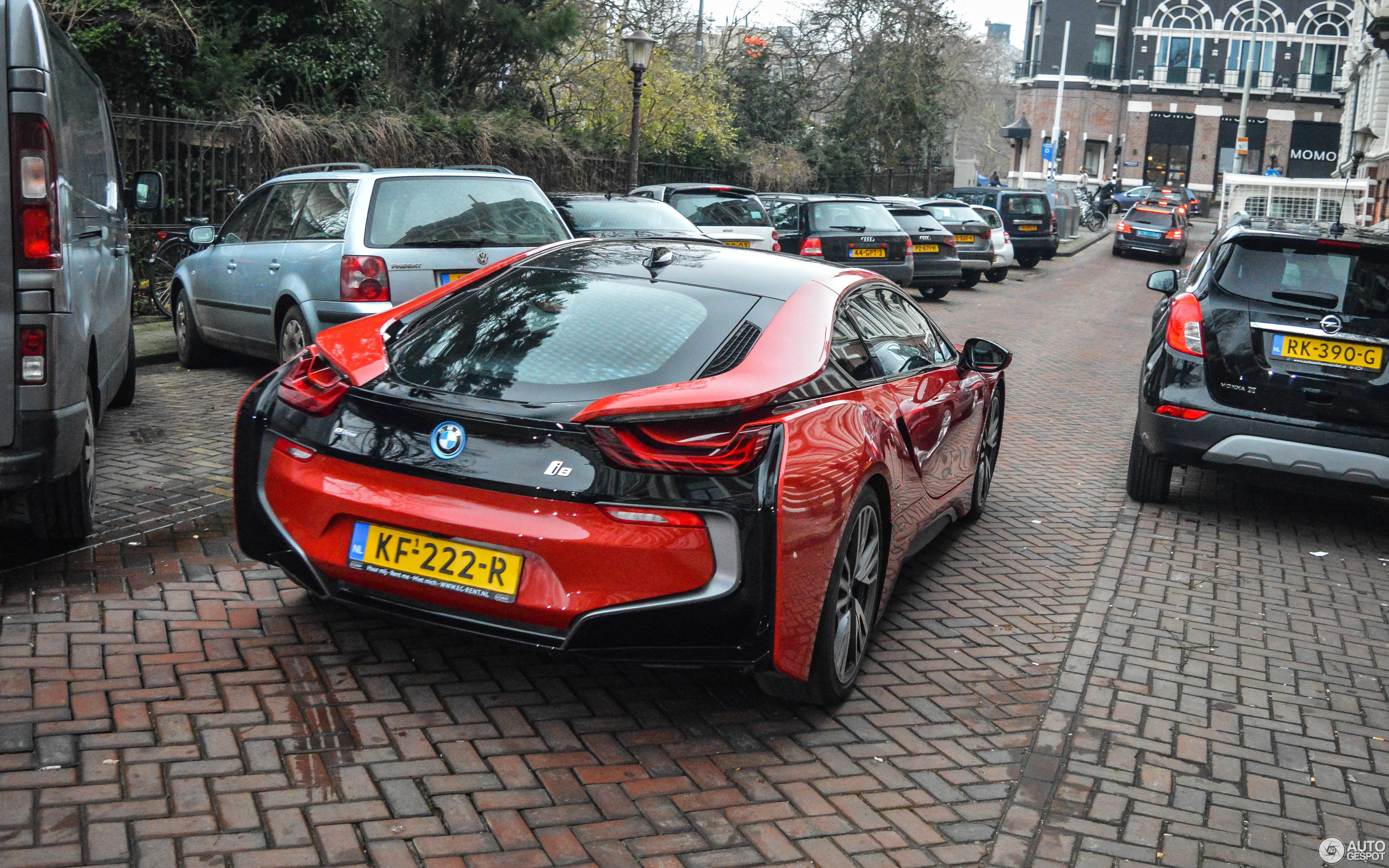 Bmw I8 Protonic Red Edition 12 February 2018 Autogespot